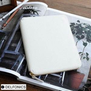手帳カバー キュリオジテ ラウンドケース B6 手帳ケース マルチケース デルフォニックス DELF...