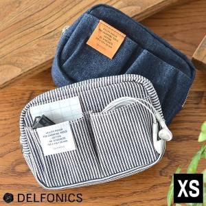 インナーキャリング デニム XS デルフォニックス DELFONICS  収納力の高さと、ワーク感の...
