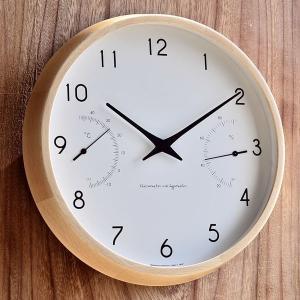 掛け時計  壁掛け時計 カンパーニュ エール 掛時計 湿度計 温度計 シンプル おしゃれ 北欧 zakkashopcom
