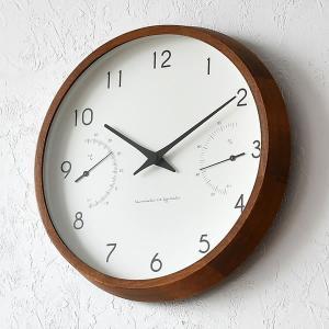 掛け時計 電波時計 温湿時計 レムノス カンパーニュ エール BPF18-03|zakkashopcom|11