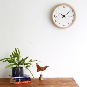 掛け時計 電波時計 温湿時計 レムノス カンパーニュ エール BPF18-03|zakkashopcom|08