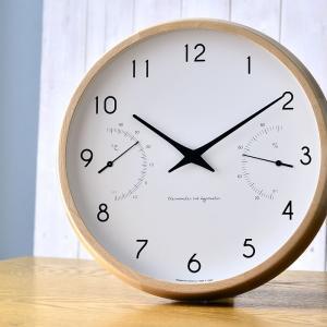掛け時計 電波時計 温湿時計 レムノス カンパーニュ エール BPF18-03|zakkashopcom|09