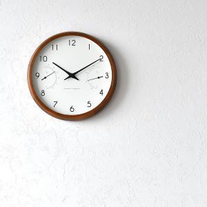 掛け時計 電波時計 温湿時計 レムノス カンパーニュ エール BPF18-03|zakkashopcom|10