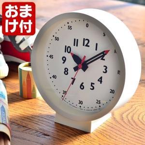 置き時計 レムノス ふんぷんくろっく for table 掛け時計 YD18-04 lemnos 置き掛け兼用 かわいい 子供部屋 日本製 北欧 ふんぷん クロック zakkashopcom