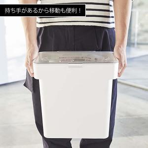 米びつ 5kg スリム タワー シンク下 袋ごと 計量カップ 密閉 収納 米櫃|zakkashopcom|04