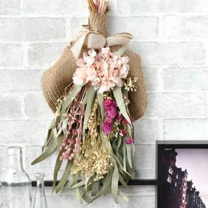 ドライフラワー スワッグ ベルフルール ジョリー 花束 ギフト 母の日 プレゼント 花 お祝い ブーケ 北欧 アンティーク プレゼント インテリア