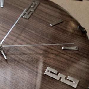 掛け時計 バンドーネ 電波時計 W-707 掛時計 壁掛け時計 おしゃれ ナチュラル 木製 ブラウン 電波 時計 ノア精密|zakkashopcom|06