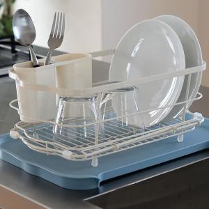 水切りかご しまえる水切り 水切りラック 水切り 箸立て付き キッチン収納 水切りカゴ|zakkashopcom|12
