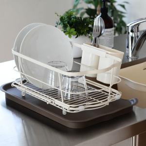 水切りかご しまえる水切り 水切りラック 水切り 箸立て付き キッチン収納 水切りカゴ|zakkashopcom|10