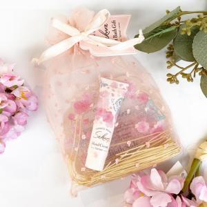 桜の香りのプチギフト(ハンドケア&入浴料)|zakkaswitch