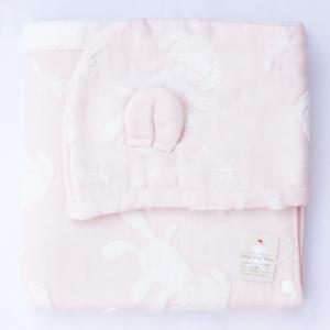 【今治タオル】マカロン フードバスタオル ピンク|zakkaswitch