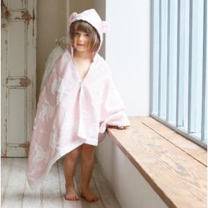 【今治製タオル】マカロン フードバスタオル ピンク zakkaswitch 03