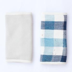 【今治製タオル】ブロックチェック ベルトカバー ブルー|zakkaswitch|02