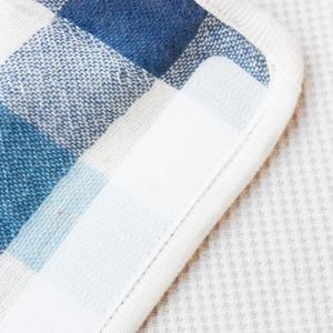 【今治製タオル】ブロックチェック ベルトカバー ブルー|zakkaswitch|03