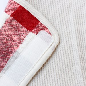 【今治製タオル】ブロックチェック ベルトカバー レッド|zakkaswitch|03