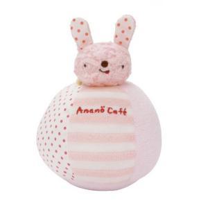【ananocafe】ベビーおきあがりこぼし・ピンク|zakkaswitch