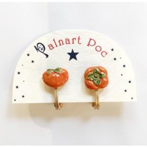 【Palnart poc】(パルナートポック)イヤリング・柿 zakkaswitch