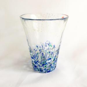 【涼しげなグラスで一杯♪お酒が好きなお父さんへ】津軽びいどろグラス・海空|zakkaswitch|02