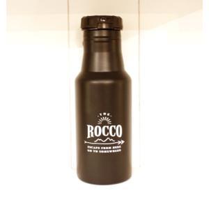 【ROCCO】保冷ステンレスボトル500ml・ネイビーシルバー zakkaswitch