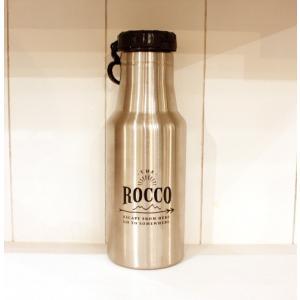 【ROCCO】保冷ステンレスボトル500ml・ブラック zakkaswitch