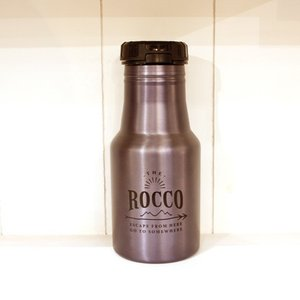 【ROCCO】保冷ステンレスボトル350ml・カーキ zakkaswitch