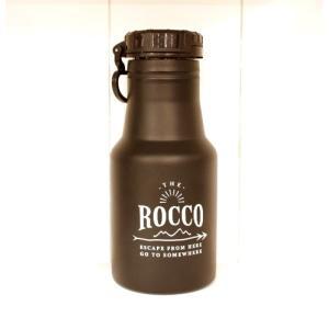【ROCCO】保冷ステンレスボトル350ml・ブラック|zakkaswitch