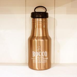 【ROCCO】保冷ステンレスボトル350ml・ブロンズ|zakkaswitch
