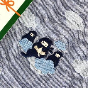 【にっぽん小物】刺繍ハンカチ・忍者ネイビー|zakkaswitch|02