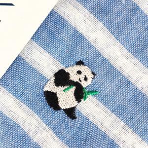 【にっぽん小物】刺繍ハンカチ・東京パンダ|zakkaswitch|02