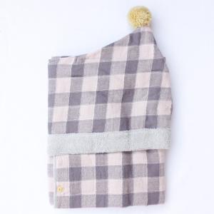 【今治製タオル】アンジェリーナ フード付きバスタオル ピンク|zakkaswitch