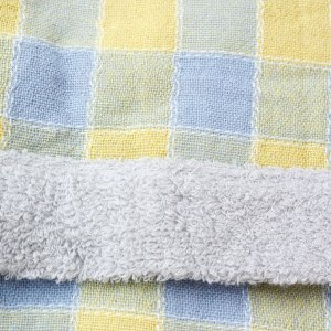 【今治製タオル】アンジェリーナ フード付きバスタオル ブルー zakkaswitch 02