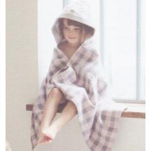 【今治製タオル】アンジェリーナ フード付きバスタオル ブルー zakkaswitch 03