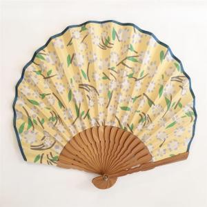 夏の涼ギフトに【natti】扇子・タンポポ|zakkaswitch