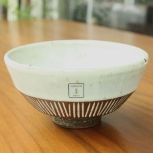 【rokuro 茶碗】へなり茶碗・堀乳灰 zakkaswitch