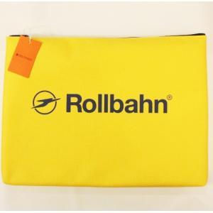 RollbahnポーチL・イエロー|zakkaswitch