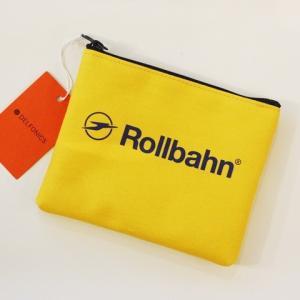 RollbahnポーチS・イエロー|zakkaswitch