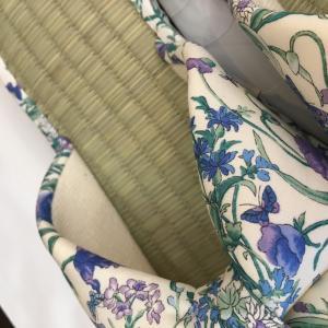 【涼のギフトにも!】日本製 畳の夏スリッパ・ライトブルー|zakkaswitch|02