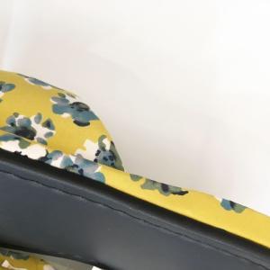 【涼のギフトにも!】日本製 畳の夏スリッパ・イエロー|zakkaswitch|03
