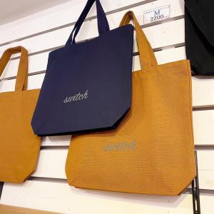 switchオリジナルトートバッグ・縦長トートサイズ|zakkaswitch