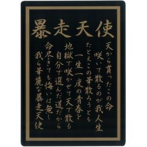 ツッパリ下敷き  暴走天使 B5 (定形外郵便可)|zakkatengoku