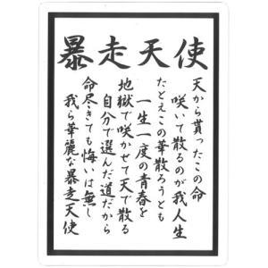 透明 ツッパリ下敷き  暴走天使 B5 (定形外郵便可)|zakkatengoku
