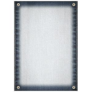 ササガワ(タカ印) 包装用紙 デザインペーパーマジガミ デニム 10枚×5セット