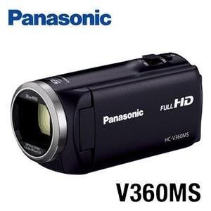 パナソニック デジタルハイビジョンビデオカメラ 16GBメモリー内蔵 HC-V360MS-K ブラッ...