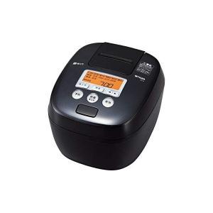 タイガー 圧力IH炊飯ジャー(5.5合炊き) ブラックTIGER 炊きたて JPC-B100-K (...