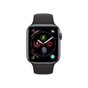 MU6D2J/A [ブラックスポーツバンド] Apple Watch Series 4 GPSモデル...