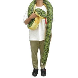 【あすつく】スーパーメガジャンボ ハブ ぬいぐるみ 動物 特大 へび 蛇 スネーク|zakkayafree