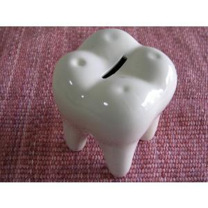 おもしろ雑貨 歯の貯金箱Lサイズ|zakkayafree