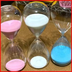 砂時計 60分 1時間 ガラス サンドグラス-60|zakkayafree
