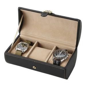 ウォッチケース 3本用  時計ケース 3本 時計 収納 腕時計 ケース zakkayafree
