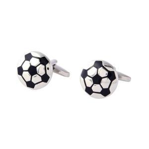 【あすつく】カフスボタン サッカーボール カフスボタン メンズ セット サッカー 小物 ファッション サッカーボール zakkayafree